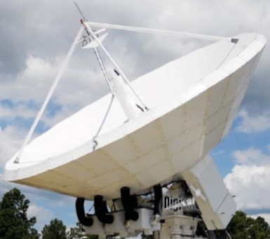 Government Satellite Earth Station Antenna Systems